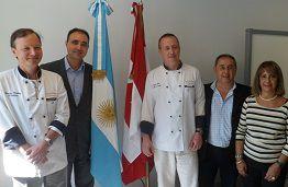 Se desarrolló el 1er Encuentro Internacional de Gastronomía argentino canadiense