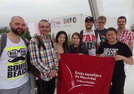 El centro educativo italiano RIETI, recibió a alumnos canadienses de la escuela Calixa Lavallée
