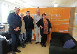 Víctor Santa María y Gustavo Álvarez visitaron Instituciones de Formación Profesional de Noruega, Suecia y Finlandia en el marco de la Red Internacional de Educación para el Trabajo - RIET