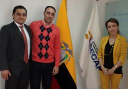 Gustavo Álvarez visitó el Servicio Ecuatoriano de Capacitación Profesional en la ciudad de Quito, Ecuador