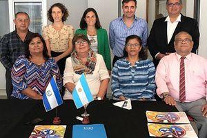 Visita de autoridades del Ministerio de Educación de El Salvador