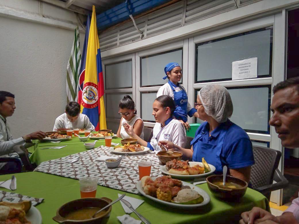 El CFP N.° 28 de Argentina y CIBERCTEC de Colombia unidos por la cocina tradicional