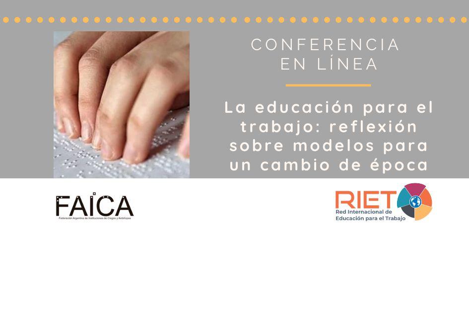 Mirá la conferencia en vivo: Formación Profesional Inclusiva para personas con discapacidad visual
